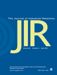 Journal of Industrial Relations (Cover)