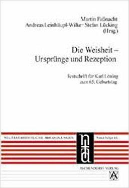 Die Weisheit – Ursprünge und Rezeption (Umschlag)