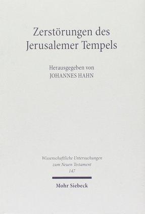 Zerstörungen des Jerusalemer Tempels (Umschlag)