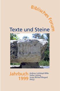 Umschlag: Biblisches Forum Jahrbuch 1999